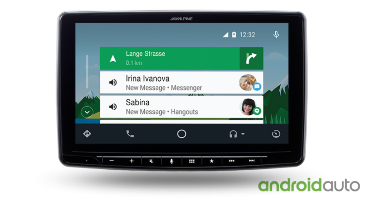 alpine Halo9 ILX-F309E Android Auto