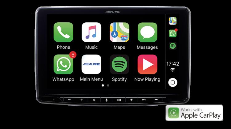 alpine Halo9 ILX-F309E Apple CarPlay