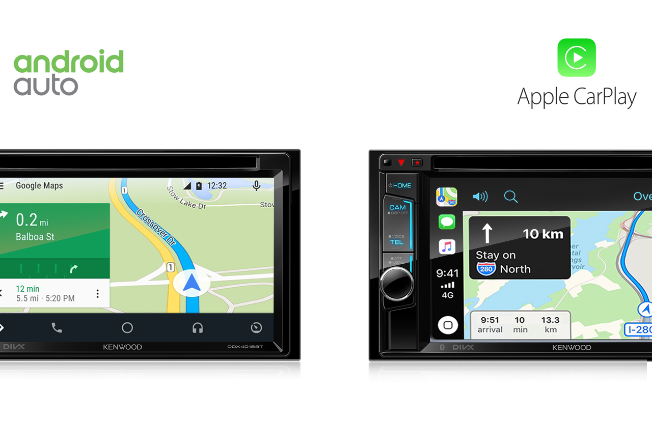Apple CarPlay and android auto maps