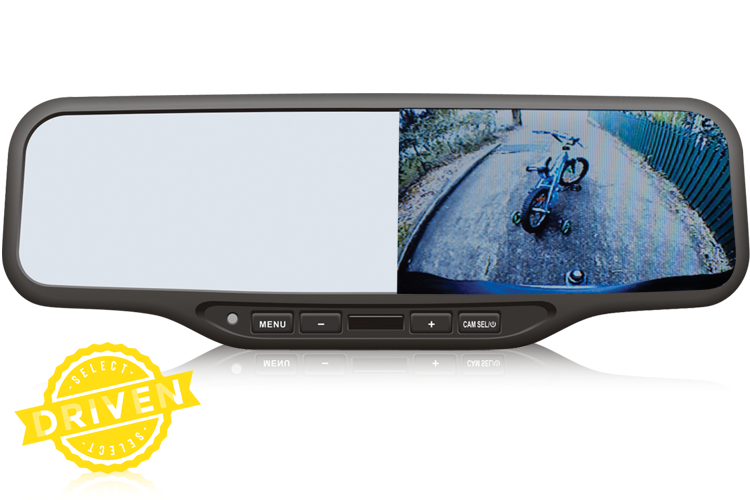 mirror monitor for rear view camera