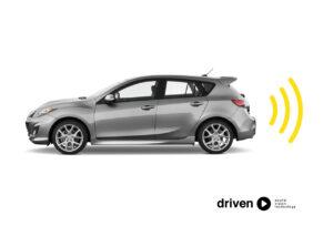 rear parking sensor system