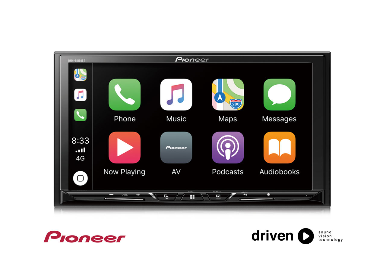 Pioneer Dmh Z5150bt Carplay And Android Auto
