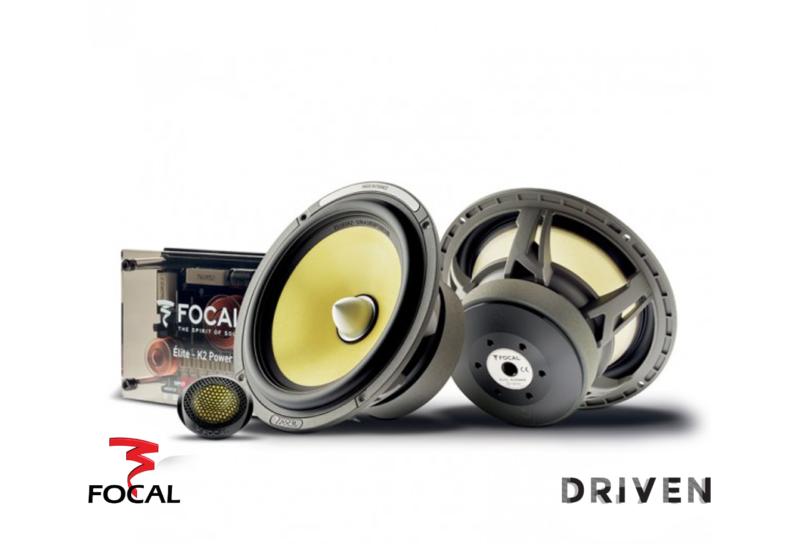 Focal ES 165 K2 2-Way Component Speakers