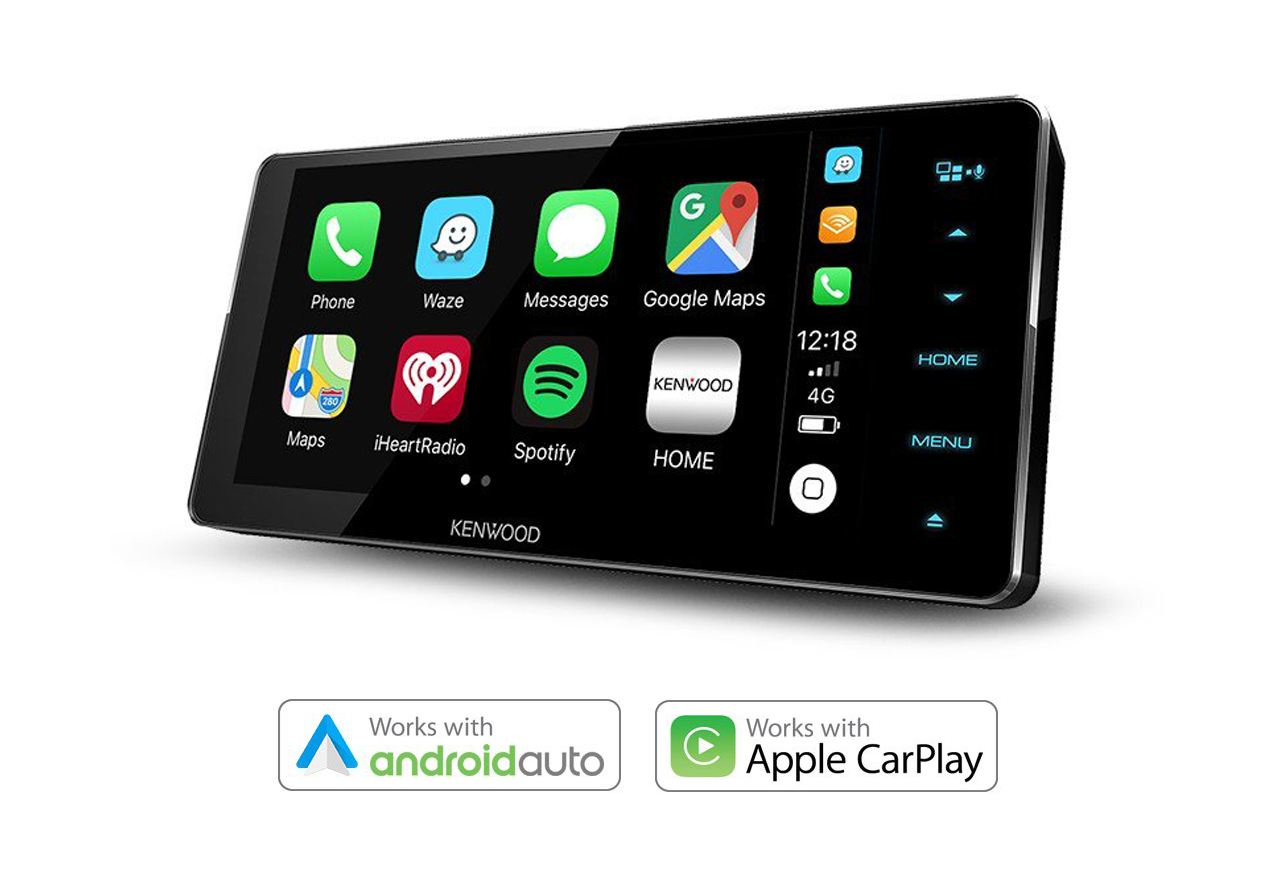 kenwood ddx919ws 200mm wide carplay and android auto