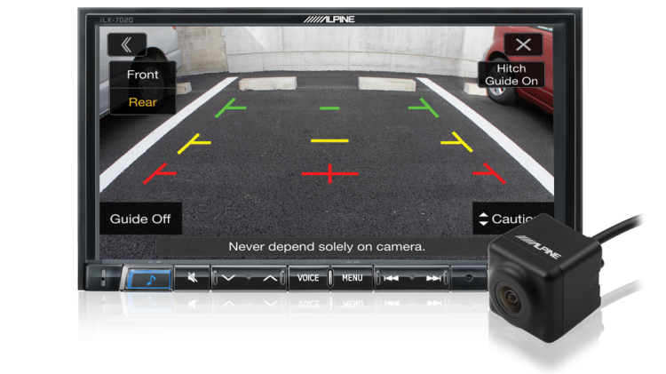 Direct Rear Camera Input