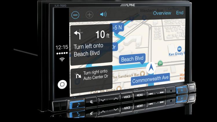 Alpine iLX-702 Smartphone Navigation