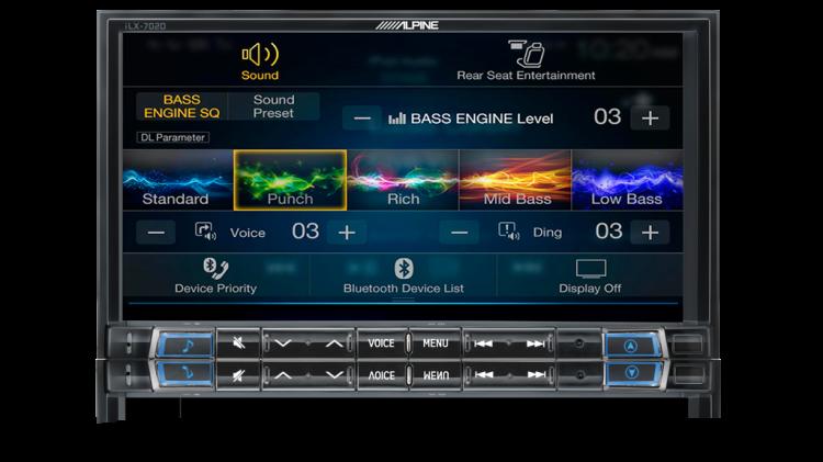 Alpine iLX-702D Premium Sound