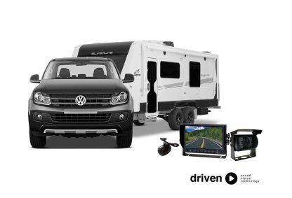 caravan dual camera parking system