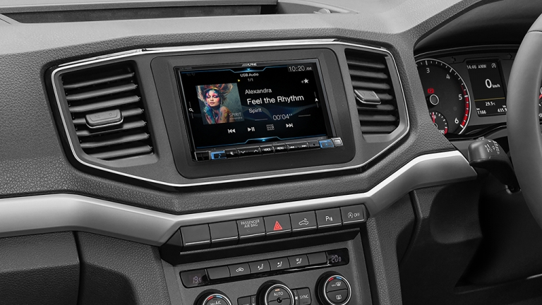 alpine car stereo installation