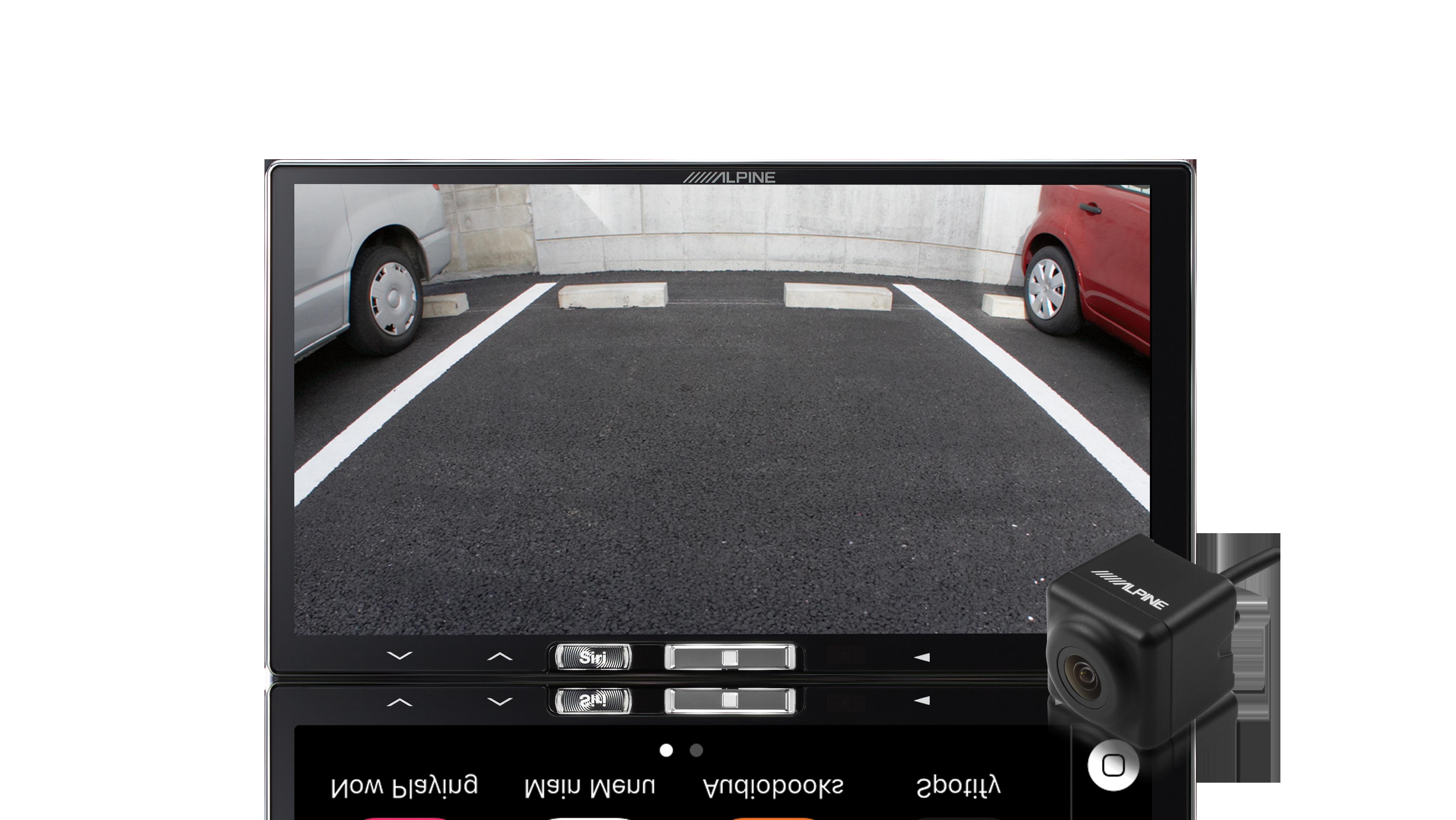 iLX-107 rear view camera