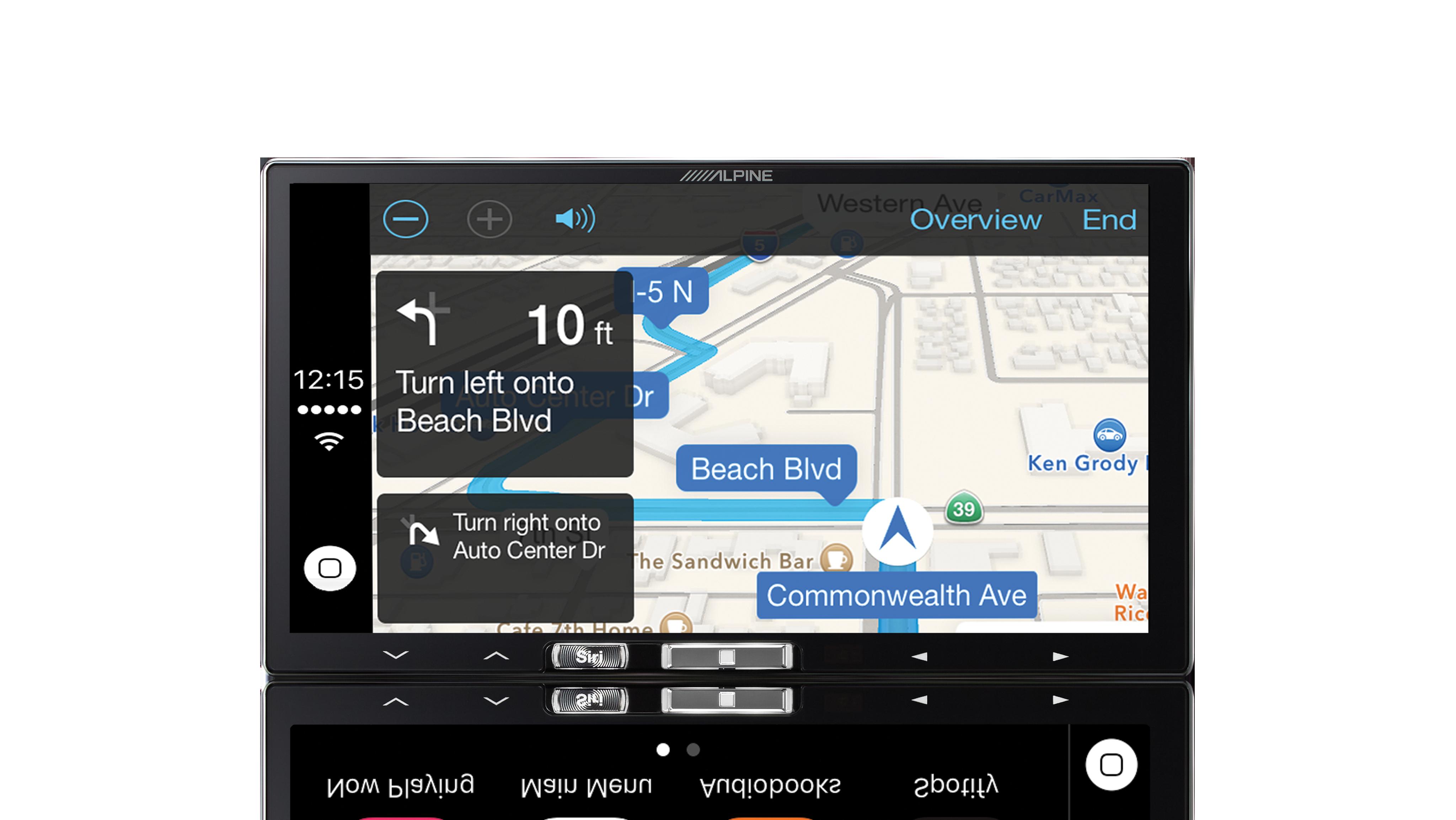 ilx-107 smartphone navigation
