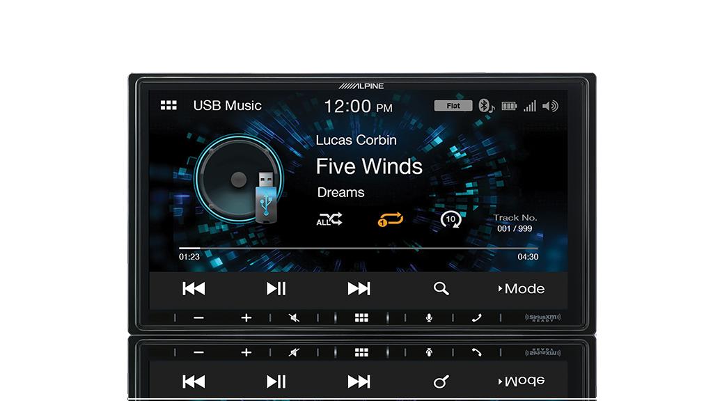 iLX-W650 usb audio