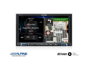 alpine INE-W987A advanced gps navigation