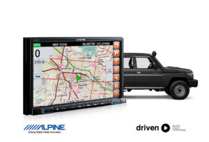 70 Series Landcruiser GPS HEMA Navigation