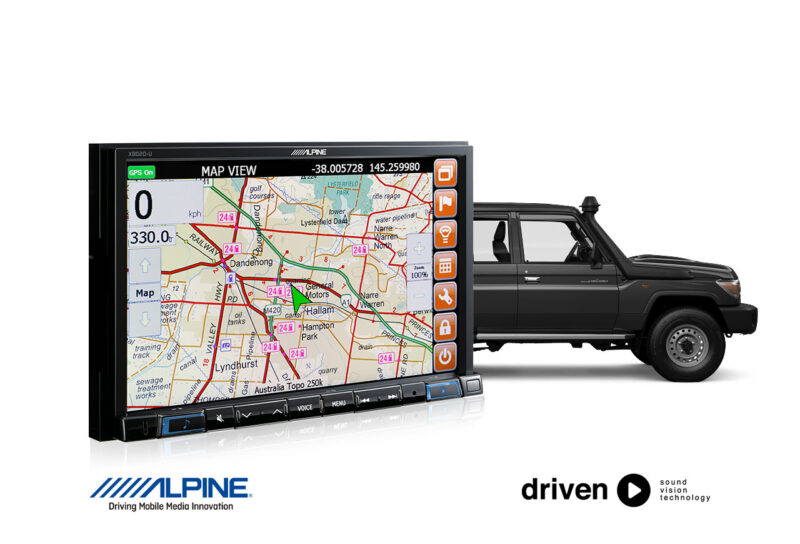 70 Series Landcruiser GPS HEMA Navigation