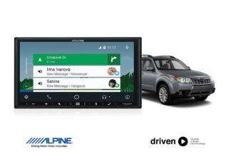 CarPlay android auto for subaru forester