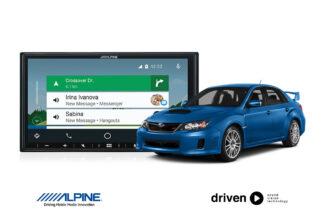 CarPlay android auto for subaru impreza