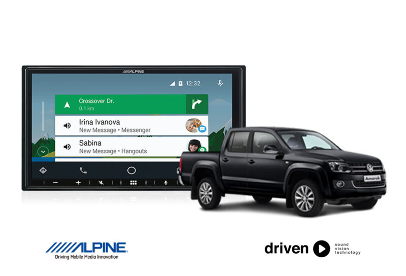 CarPlay android auto for volkswagen amarok