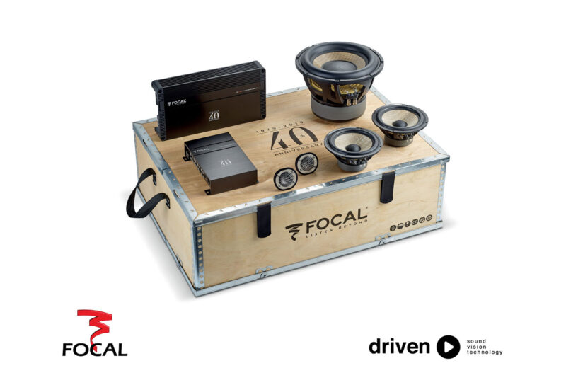 focal 40th car audio kit