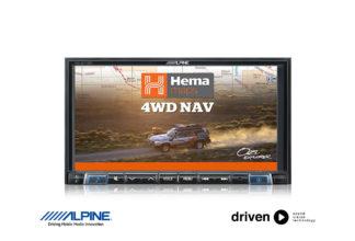 ine-w710 hema navigation