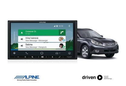 CarPlay and android auto upgrade for subaru liberty and outback
