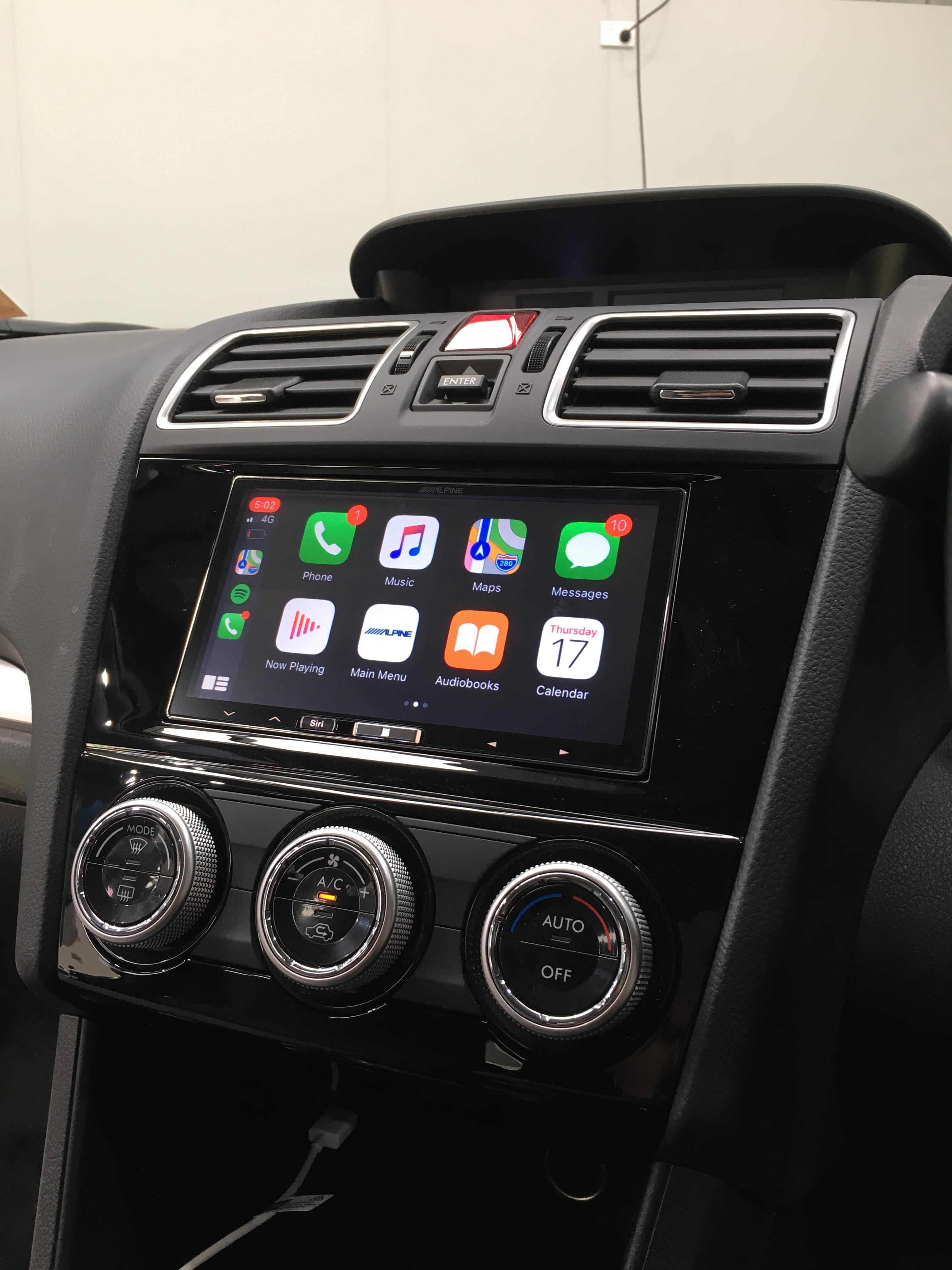 subaru xv with apple CarPlay