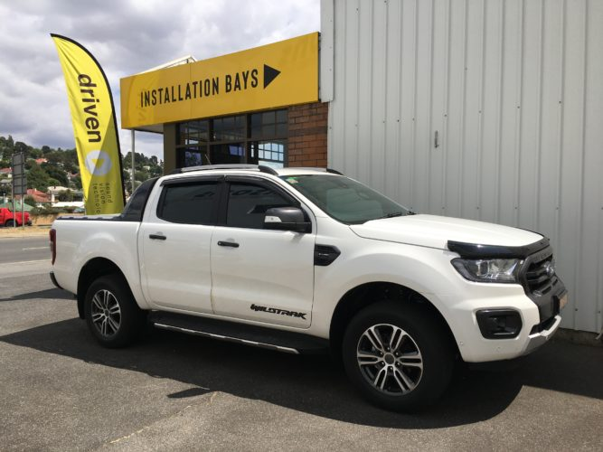 Ford Ranger with AEB installed with a REDARC towpro electric brake controller