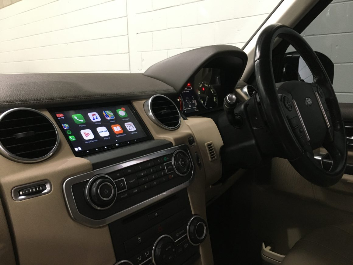 CarPlay retrofit for Discovery 4