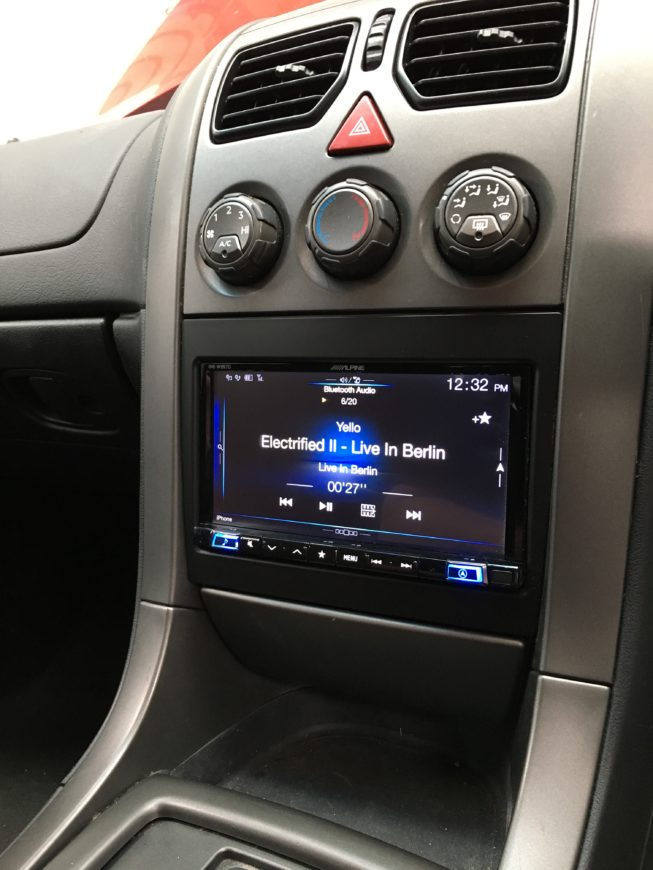 VY Commodore stereo upgrade