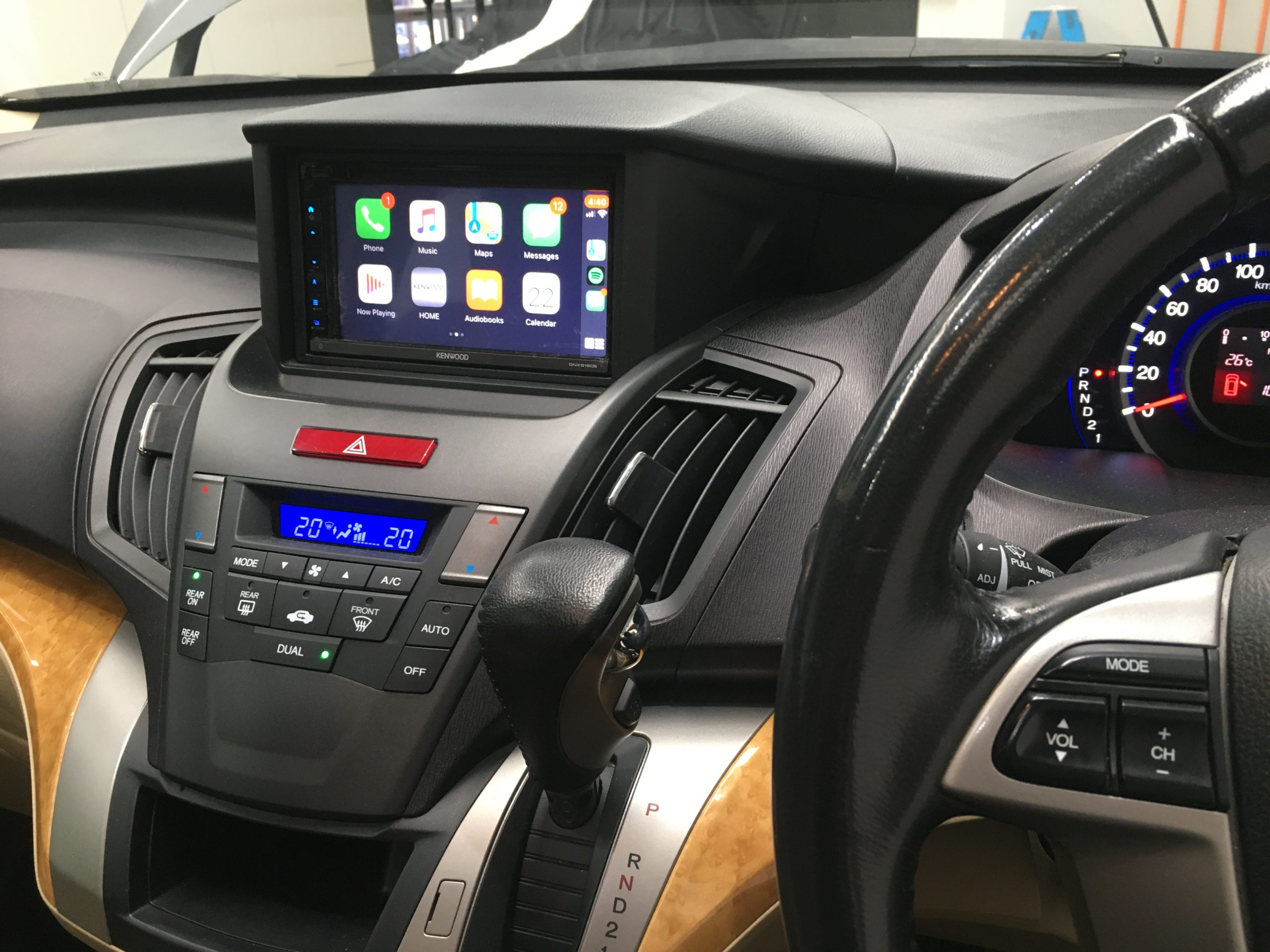 Honda GPS with CarPlay & Android Auto