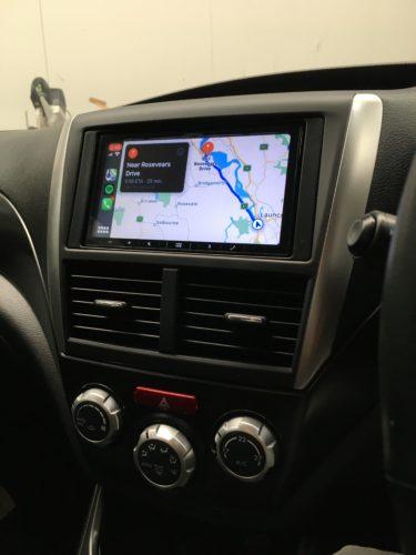 subaru CarPlay with apple maps