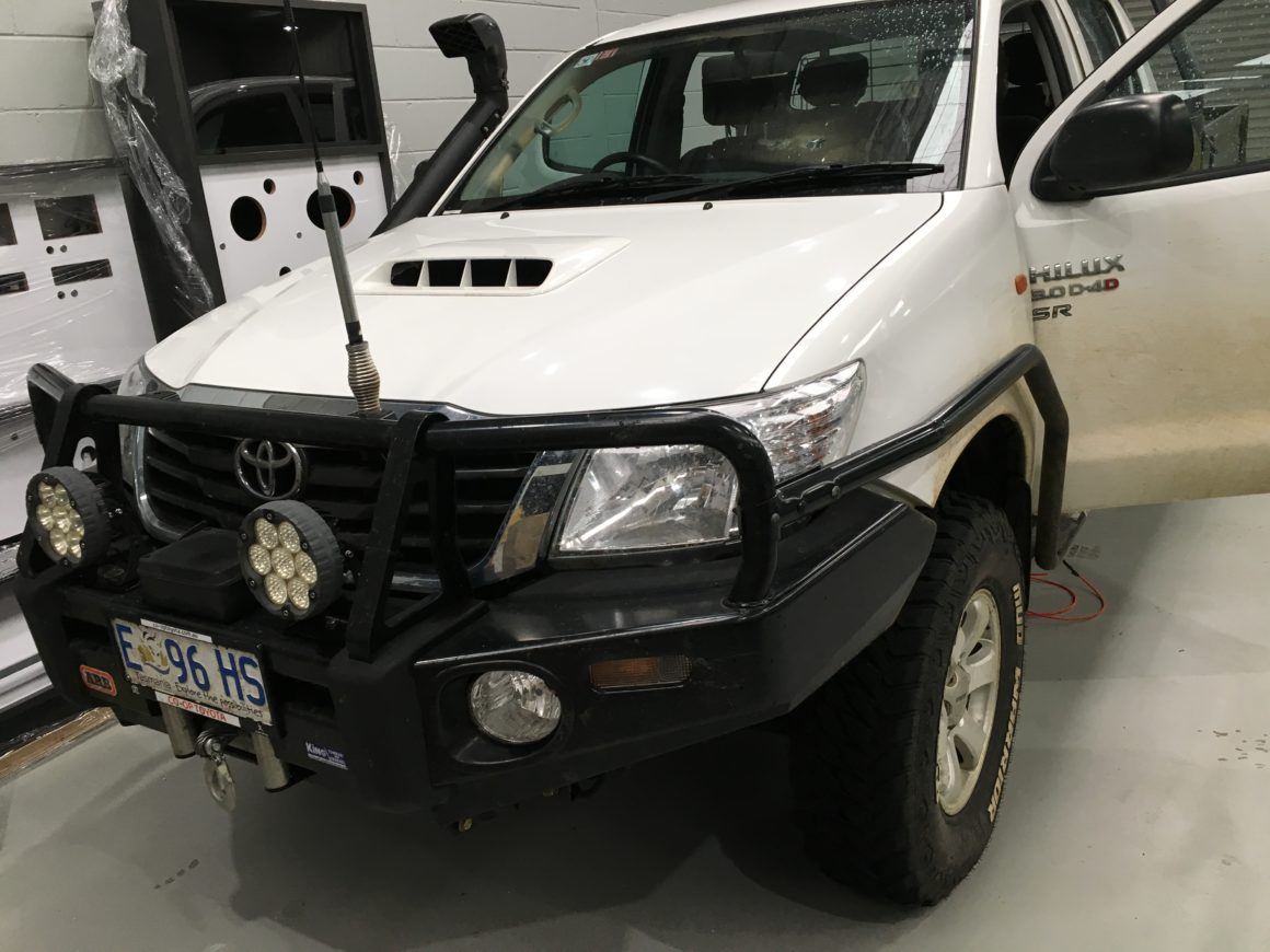 reverse camera to suit Toyota Hilux 2005 – 2013