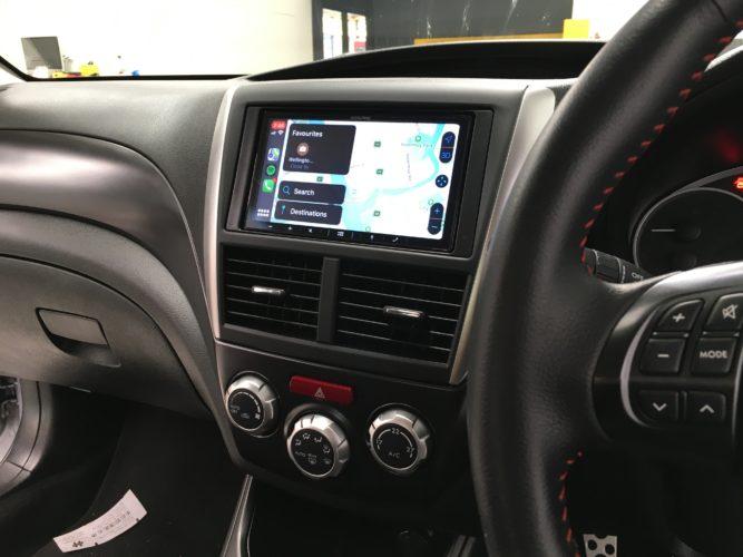 Subaru WRX Radio Upgrade to CarPlay Android Auto