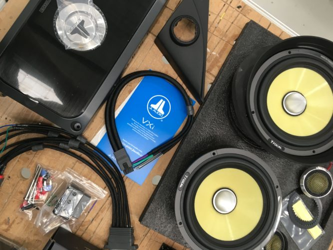 audio upgrade for Mazda MPS