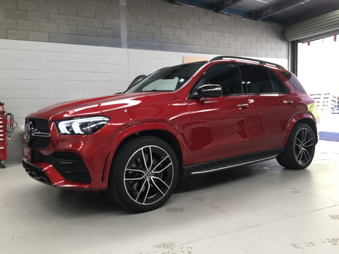 Mercedes GLE with Thinkware F770 dash cam