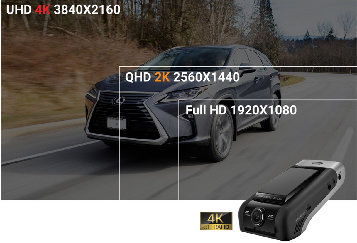 ultra high definition dash cam