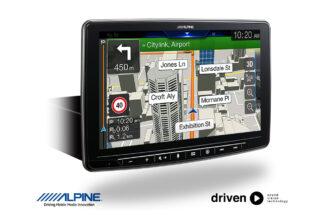 alpine INE-F409 navigation
