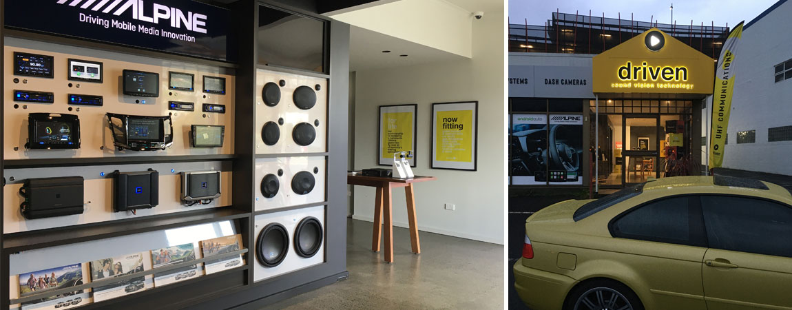 car audio and installation by driven sound vision launceston