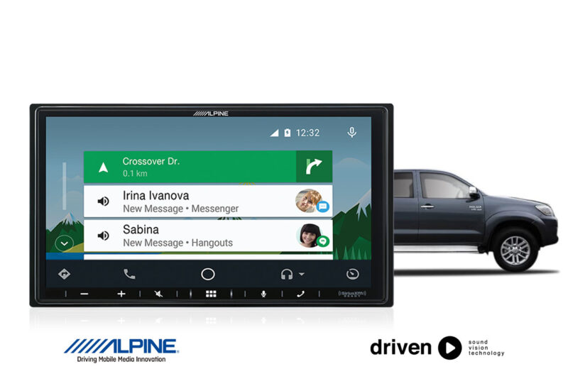 android auto CarPlay for toyota hilux