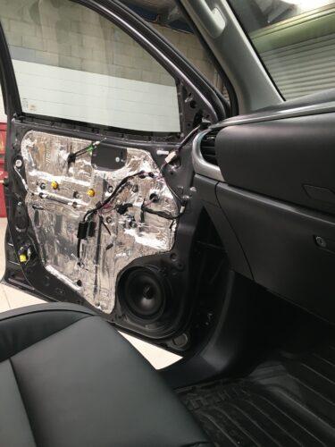 Toyota Hilux Sound Deadening Front Doors