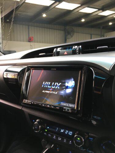 2015 Hilux CarPlay Upgrade