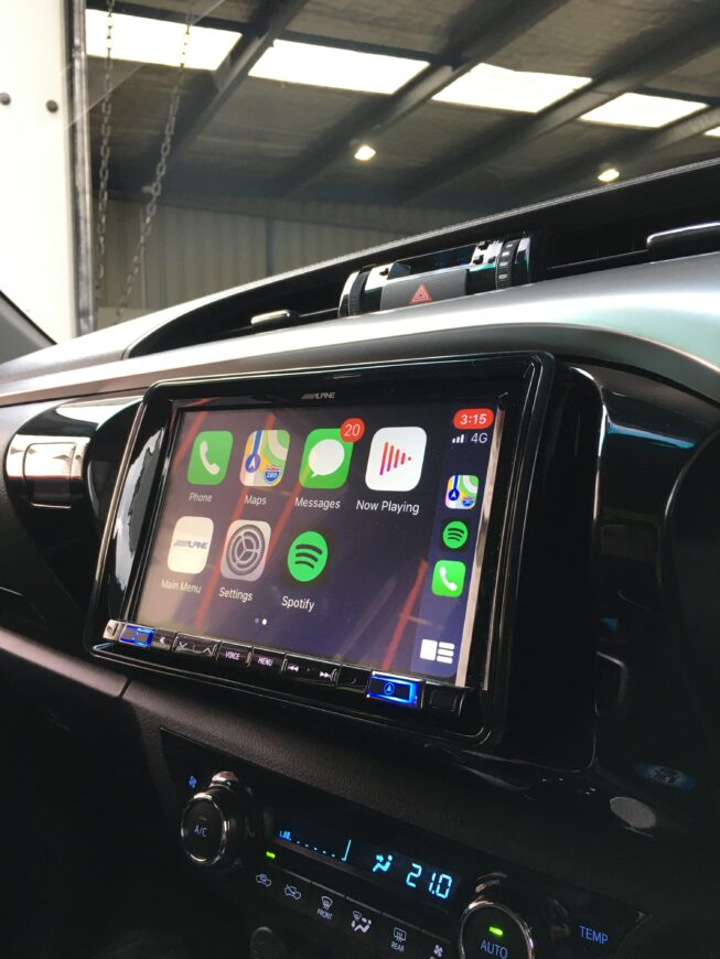 Hilux CarPlay & Android Auto Upgrade