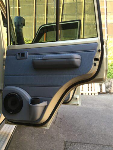 79 Series LandCruiser Rear Door Pod