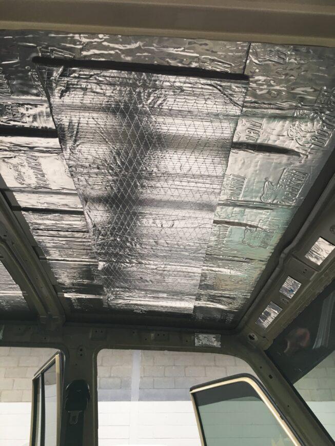 79 series sound deadening roof