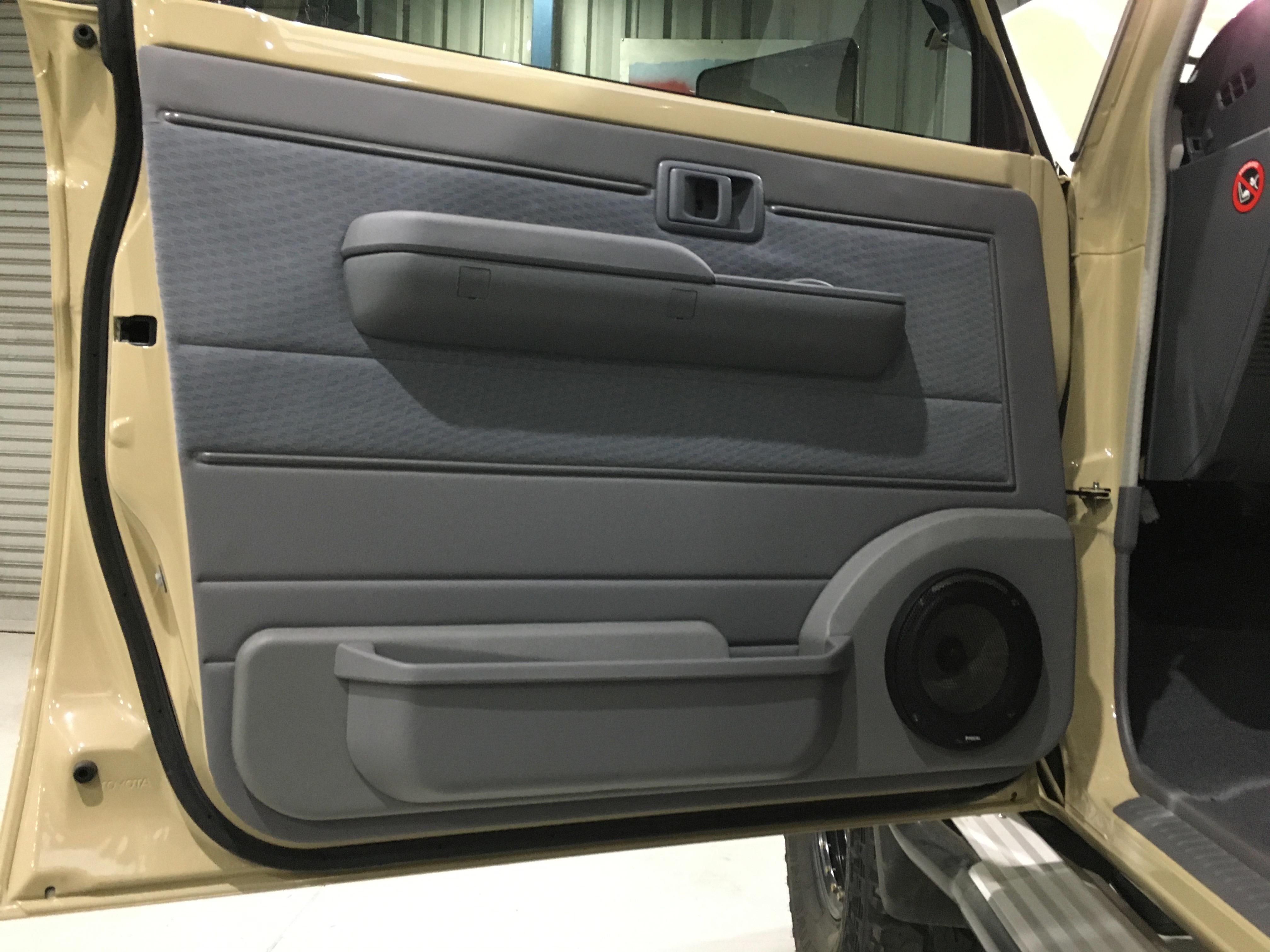 focal speakers in 79 series landcruiser