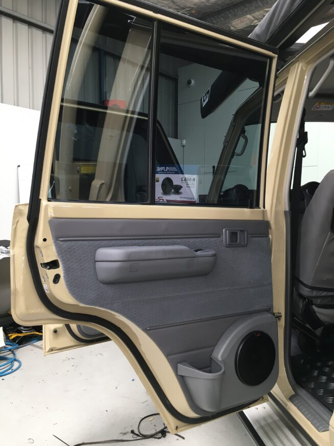 cruiser speaker pod installation