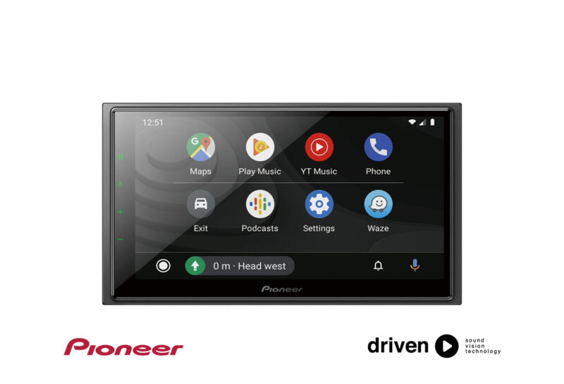 pioneer wireless CarPlay android auto
