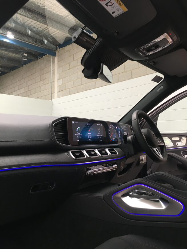 thinkware f770 dashcam installation into mercedes gle