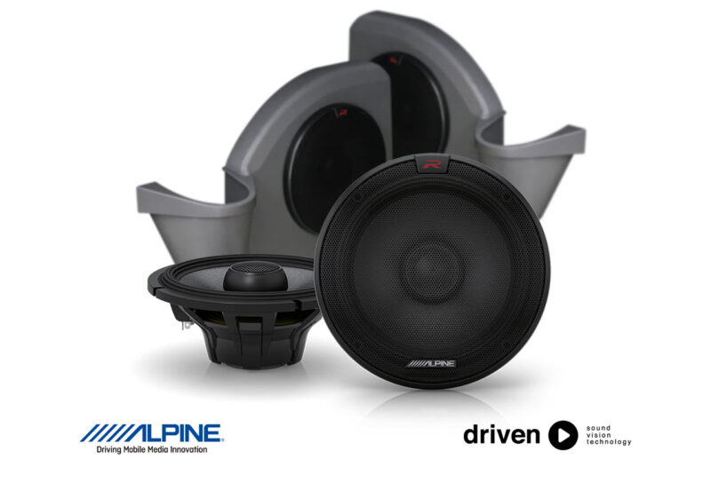 alpine R-S65.2 speaker upgrade for 70 series cruiser
