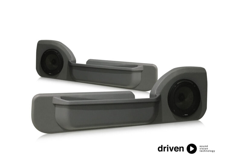 70 series front door speaker pods